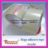 Mémoire latérale adhésive à simple face d'utiliser-et de cachetage de carton et bande de empaquetage mobile