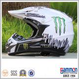 Холодный шлем Motorcross МНОГОТОЧИЯ с надписью на стенах в померанце (CR402)