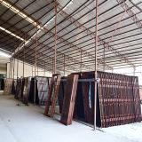 Porte en verre en bois intérieure de PVC de prix usine (SC-P072)