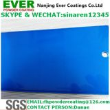 Candy Color Blue Transparent Blue Topcoat Electrostatic Spray Powder Coating