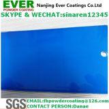 Enduit électrostatique de poudre de jet de manteau bleu transparent bleu de couleur de sucrerie