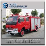 2000L Dongfeng 4X2 Mini Camión de Bomberos