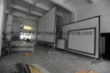 Tela de projeção Fast Fold tela de projetor ao ar livre com Flight Case