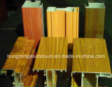 Impresión de madera Windows para el perfil de aluminio