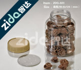 Commestibile aperto facile di plastica delle latte dell'animale domestico superiore del coperchio di vibrazione