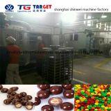 Покрытие шоколада Qdtj1500 и полируя машина пояса