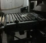Continuamente cubierta del crisol que templa la cadena de producción maquinaria del vidrio