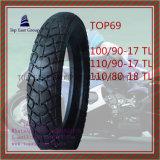 Größe 100/90-17tl, 110/90-17tl, 110/80-18tl schlauchlos, gute Qualitätsmotorrad-Reifen
