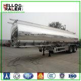 2 Wellen-Aluminiumdieselkraftstofftank-Öl-Transport-Becken halb