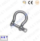 Drop Forged Steel D Type Anchor Shackle para Hardware de aço de aço