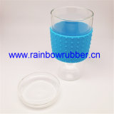 Luva colorida moldada da borracha de silicone do produto comestível