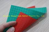 половой коврик листьев выскальзования PVC 3G анти-