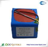 paquete de la batería de 12V 30ah LiFePO4 para la salvaguardia solar y de la UPS, batería de la potencia