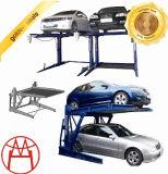 油圧電気リリース4ポストの自動駐車上昇か車の駐車上昇