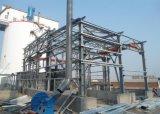 Stahlkonstruktion-Aufbau-Installations-Werkstatt