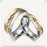 Anillo de la joyería del acero inoxidable de los complementos (SR559)