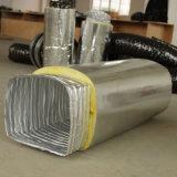 Condotto di aria quadrato flessibile isolato
