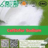 Sódio de Ceftiofur dos antibióticos do pó do corticosteroide (CAS: 104010-37-9)