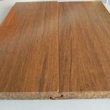 Suelo de bambú tejido hilo carbonizado