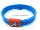 Preiswertes kundenspezifisches Silikongummiwristband-Armband für Geschenke