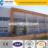 Il calibro chiaro pre che costruisce il magazzino/fabbrica della struttura d'acciaio/si è liberato del costo di costruzione