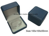 Caixa de armazenamento de couro da embalagem do relógio do presente do plutônio dos cantos Jy-Wb56 redondos