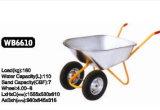Você precisa as rodas dobro do carrinho de mão de roda Wb6610