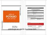 Geweven Zak van de Verpakking van 100% de Nieuwe Materiële pp voor Meststof