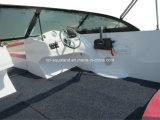 Bateau de /Motor de bateau de vitesse de fibre de verre d'Aqualand 17feet 5.2m Bowrider/(170br)