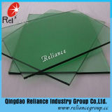 glace de flotteur teintée vert-foncé de 4mm avec Ce/ISO