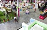 Loja pré-fabricada do supermercado da construção de aço