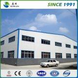 Oficina da construção de aço para o edifício e armazém com certificado do GV