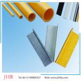 Profils carrés de tube de la Manche FRP de Pultruded de fibre de verre d'approvisionnement de Diect d'usine