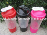 Bottiglia su ordinazione della caratteristica ecologica dell'agitatore e della materia plastica