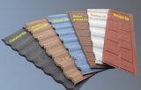 CE имеет цветастым покрынную камнем плитку крыши металла