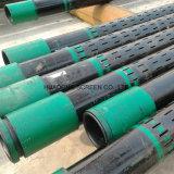El corte del laser del CNC ranuró el tubo perforado orificio redondo del tubo de la cubierta del API del tubo