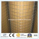 電流を通された鉄の金網か溶接された金網
