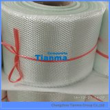 Competetiveの価格Cガラスのガラス繊維によって編まれる非常駐の明白な布