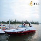 24 do esporte dos barcos da cabine dos barcos de pesca dos barcos pés de barcos da velocidade