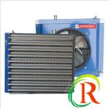 El ventilador de la calefacción del extractor con la agua caliente para el invernadero