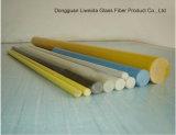 Buena flexibilidad Fiberglass/FRP/GRP Rod, barra, Soild Rod
