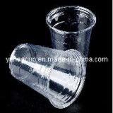 Copo de café plástico descartável, copo do gelado, copo da fruta (YHP-005)