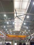 Flujo de aire grande y ningún techo industrial Fan7.4m/24.3FT de la tecnología de la potencia de la ballena de Hvls del ruido