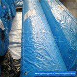 Kundenspezifische blaue PET Plane-Gewebe-Rolle für Bedeckung