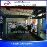 360 tutto il robot d'acciaio di taglio del plasma del tubo di Shs di profilo con la taglierina del plasma di Hypertherms Hpr260A