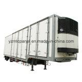 Excelente Panel Sandwich FRP PU Espuma para Refrigerado Semirremolque Camión Cuerpo