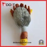 Продукта поставкы любимчика безопасности игрушка плюша собаки кота веревочки Platypus изготовленный на заказ прочная пискливая