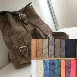 レトロPUのハンドバッグの革