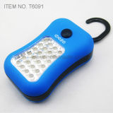 28 СИД Working Light с Flashlight (T6091)
