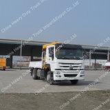 中国製工場販売HOWO 3tonsクレーンが付いているトラック15トンの貨物